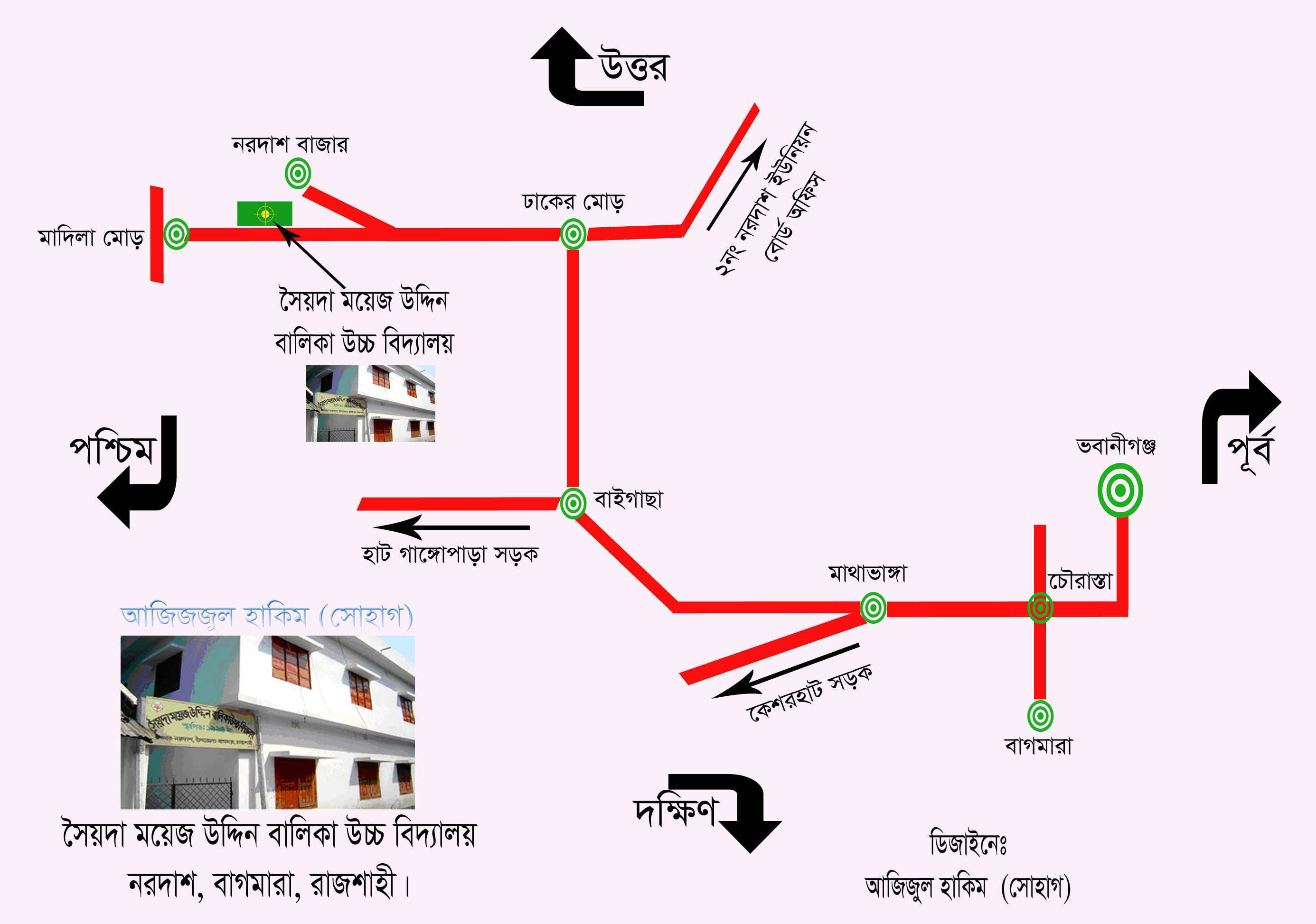 Map of SMGHS 1